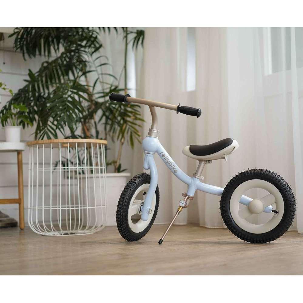 rollybike 二合一平衡學習車 天空藍 (單車版)