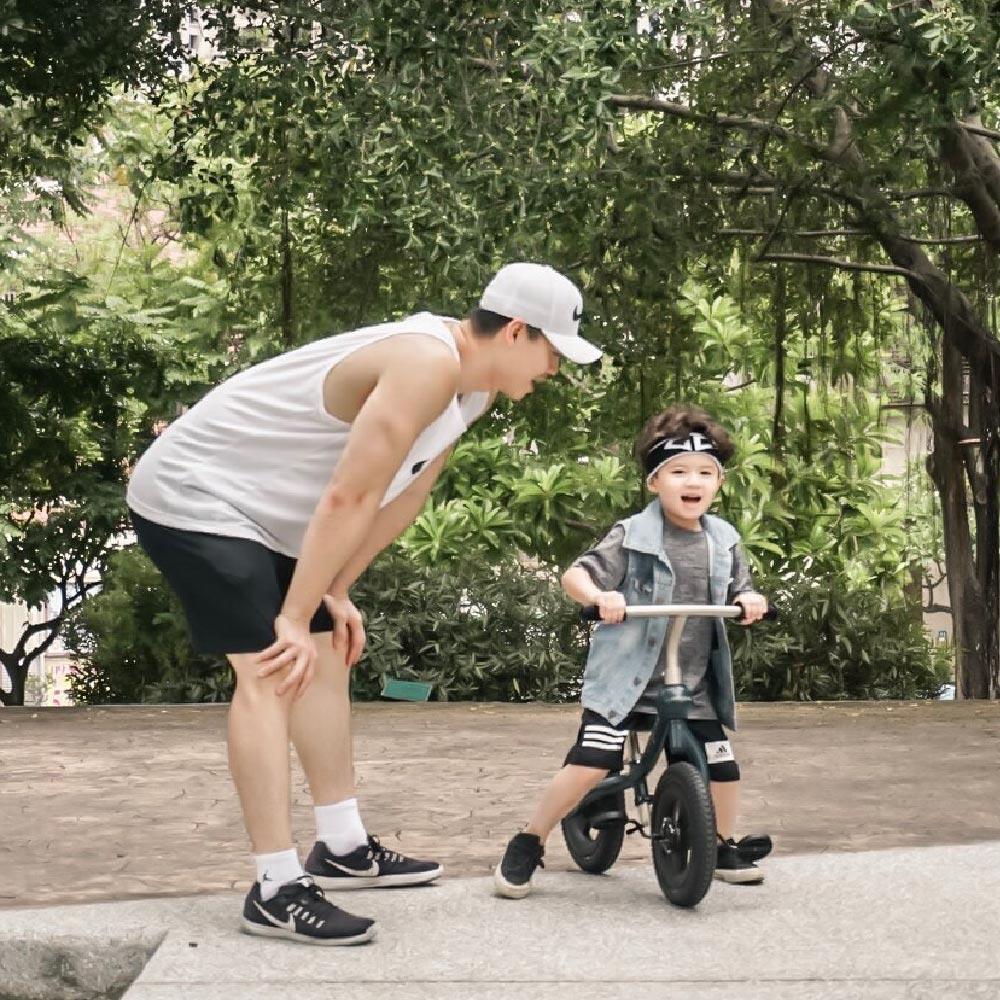 rollybike|二合一平衡學習車 甜莓粉 (單車版)