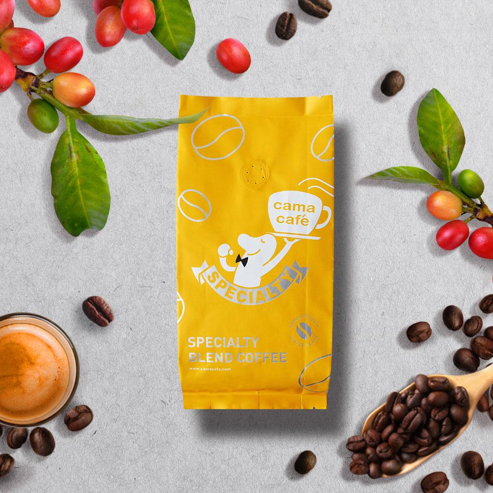 cama cafe|義式咖啡豆(中焙.250g)