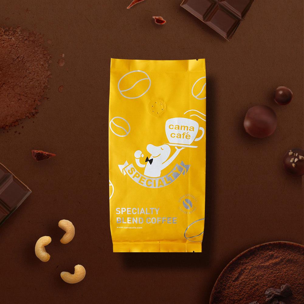 cama cafe 巧克力王子咖啡豆(中焙.250g)