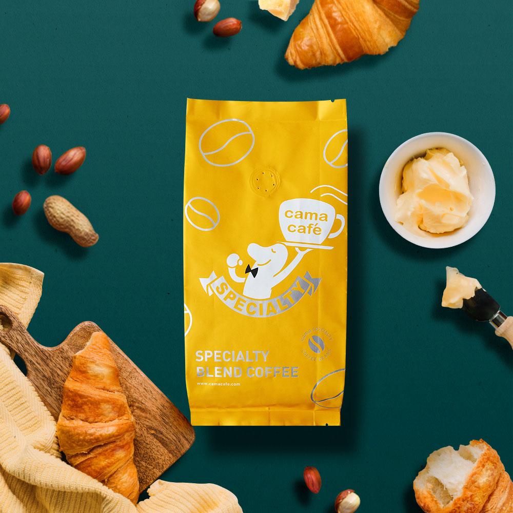 cama cafe|鎖香煎焙-黃金曼巴咖啡豆(中深焙.250g)