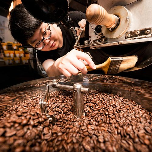 cama cafe|鎖香煎焙-醇厚焦糖咖啡豆(深焙.250g)