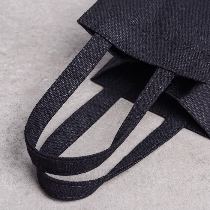 禾織 環保黑色帆布水壺收納提袋(正常版)