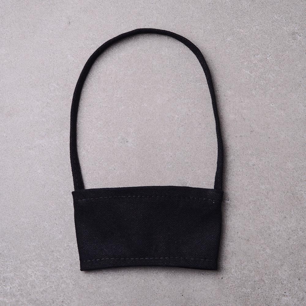禾織|環保帆布杯套提袋(黑色) 6入組