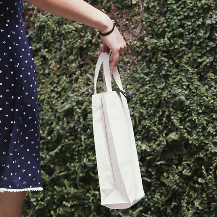 (複製)禾織|環保米白色帆布水壺收納提袋(正常版)