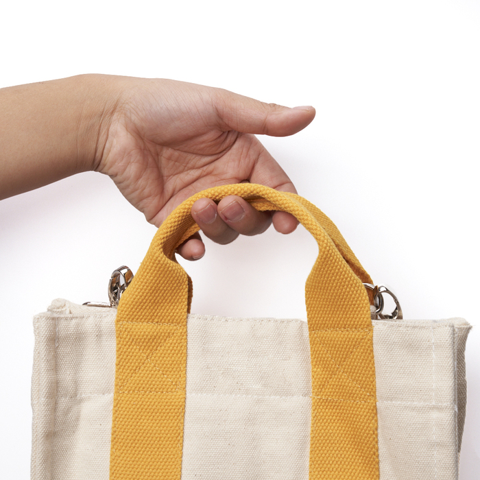 (複製)禾織|多彩手工帆布便當小提袋