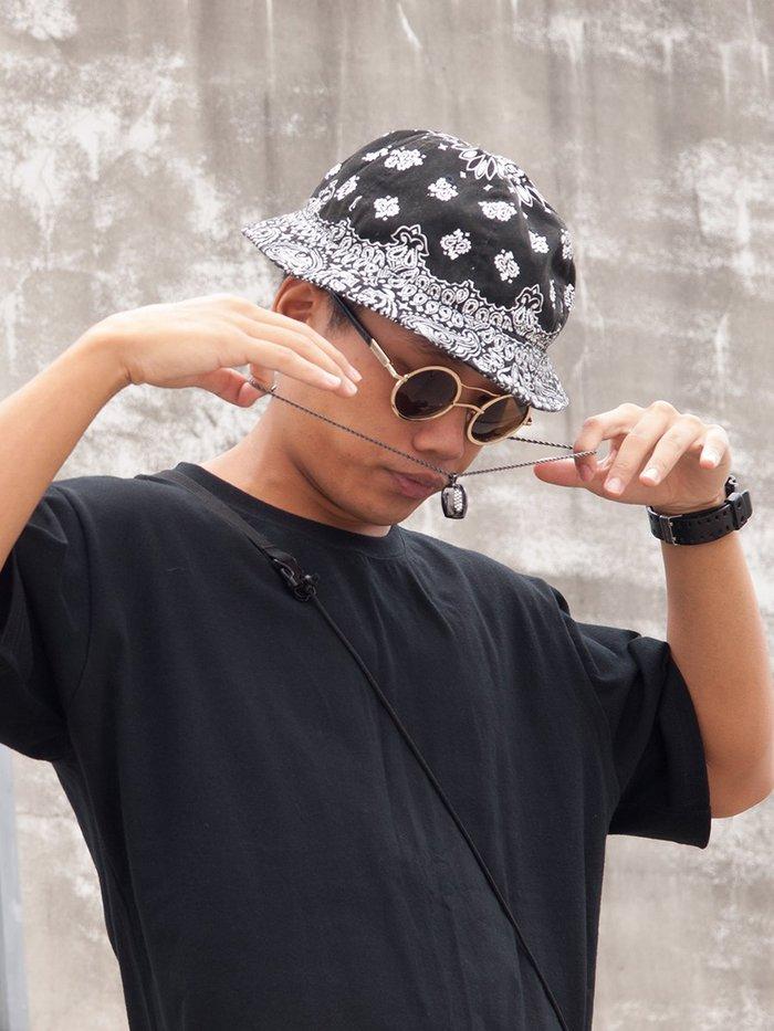 Bin-Neng 【檳能項鍊】黑色/白鑽、銀色/粉鑽