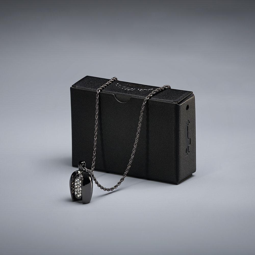 Bin-Neng|檳能尬盒子 檳能盒+檳能項鍊 (黑色/白鑽、銀色/粉鑽)