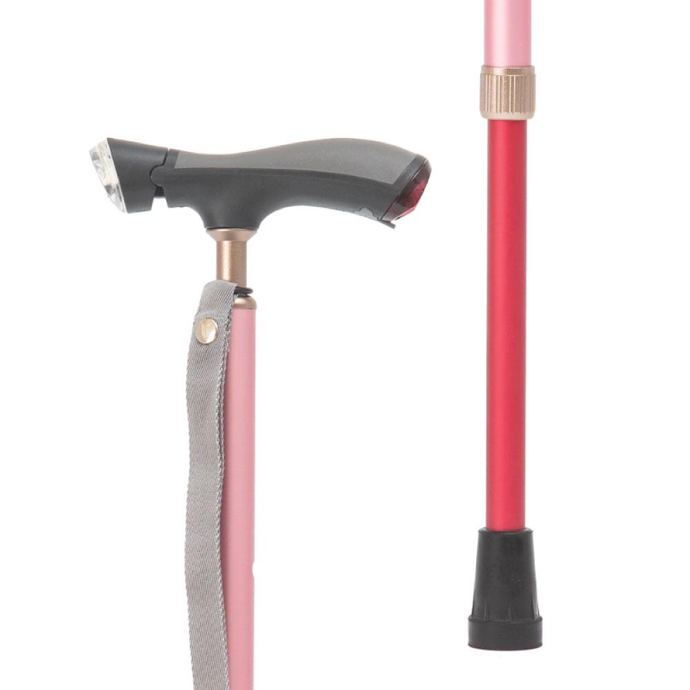 bles|海鷗經典手杖(粉黑)配件組合
