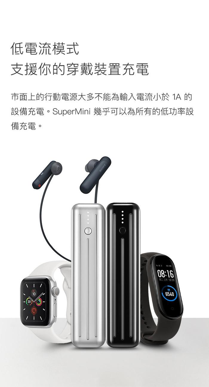 zendure-supemini 5k-18w-pd快充-行動電源