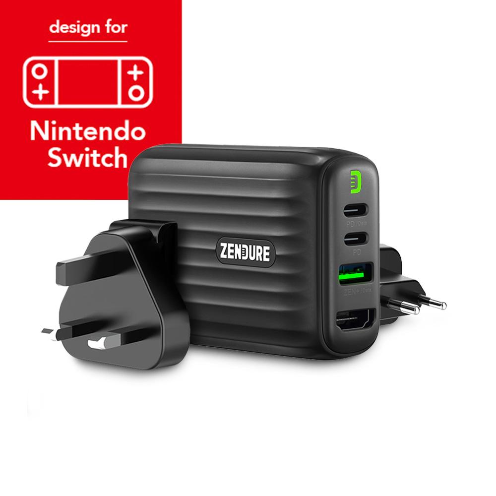 Zendure|SuperHub 48W 多合一充電集線轉接器 (NS款)