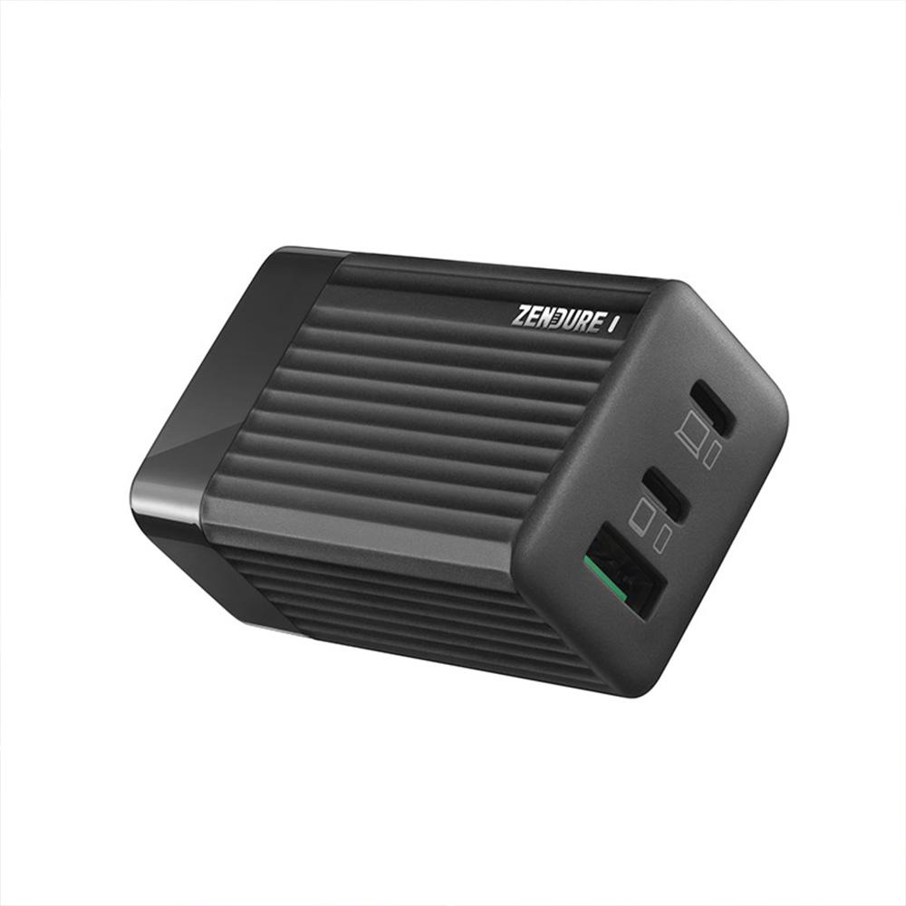 Zendure|SuperPort S3|65W GaN PD 快充三孔充電器