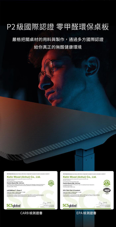 Flexispot-戰魂Z-電競電動升降桌
