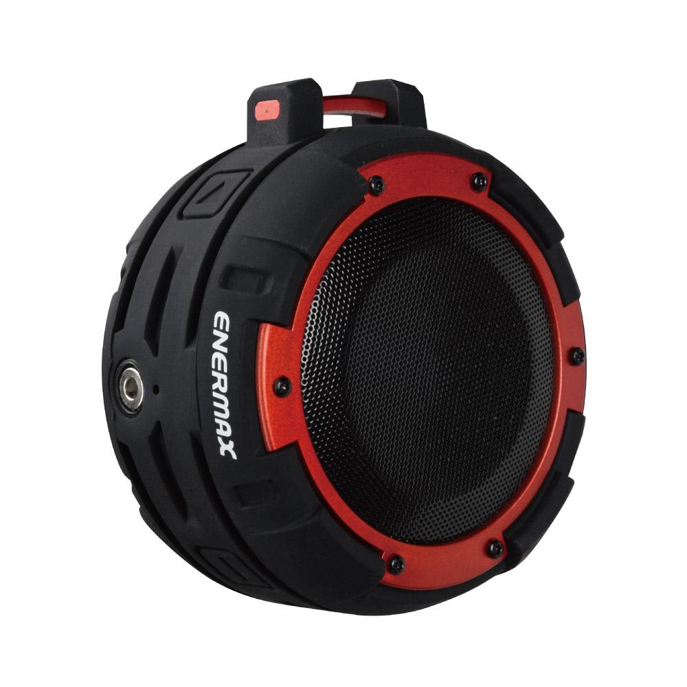 ENERMAX安耐美|防水無線藍芽喇叭 EAS03 黑紅