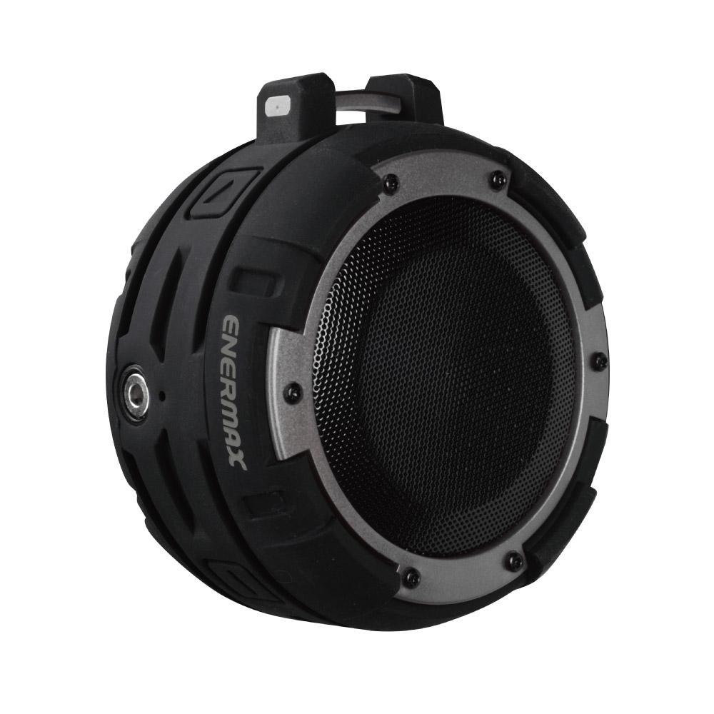 ENERMAX安耐美|防水無線藍芽喇叭 EAS03 黑銀