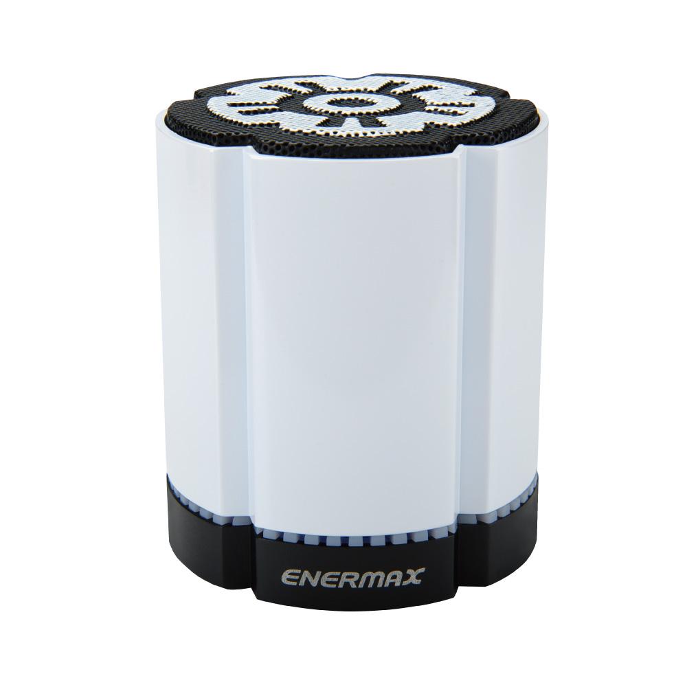 ENERMAX安耐美|可對接無線藍芽喇叭 EAS02S 白 (雙顆入)