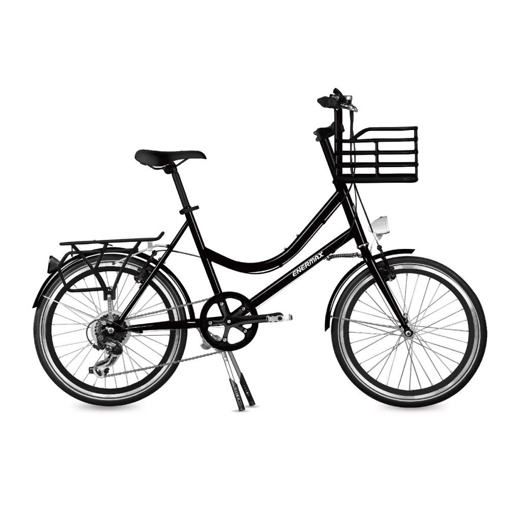 ENERMAX安耐美|ECB200城市自行車(黑)