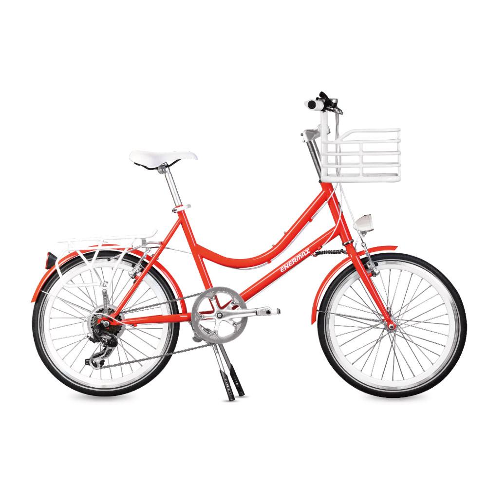 ENERMAX安耐美|ECB200城市自行車(紅)