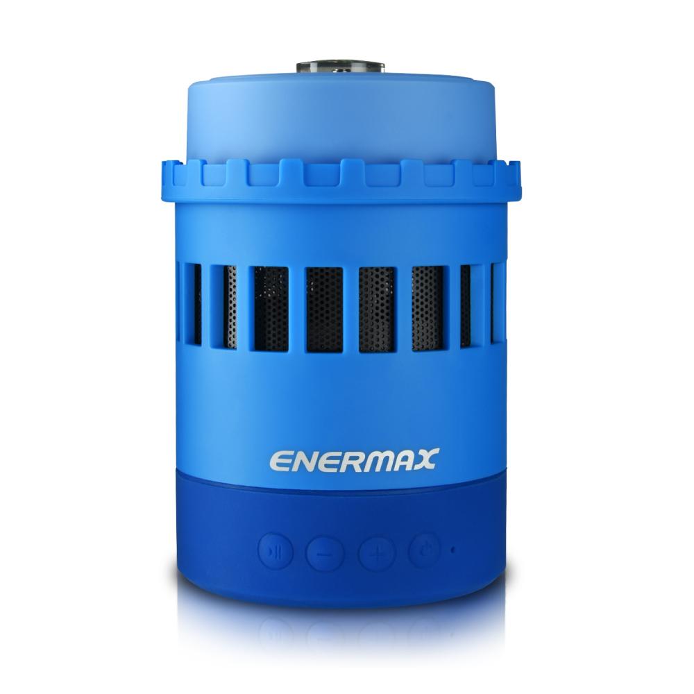 ENERMAX安耐美| EAS05法老燈七合一功能藍芽喇叭-藍(雙顆包)