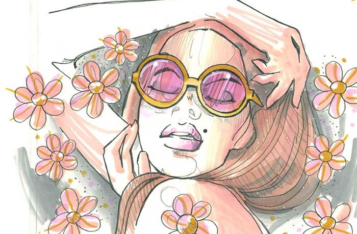 CHameLeon變色龍 漸層麥克筆5色組 粉彩色