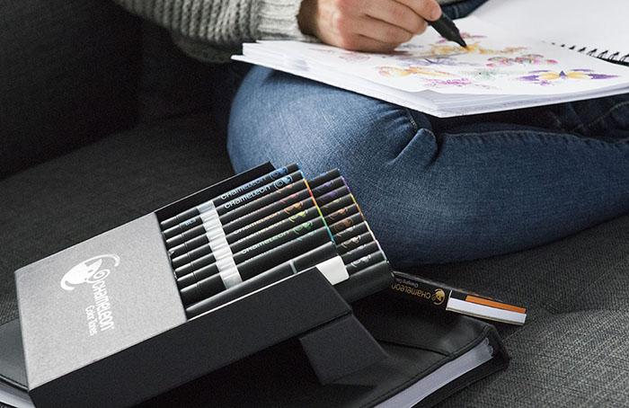 (複製)CHameLeon變色龍|漸層麥克筆 全色系 52色套組