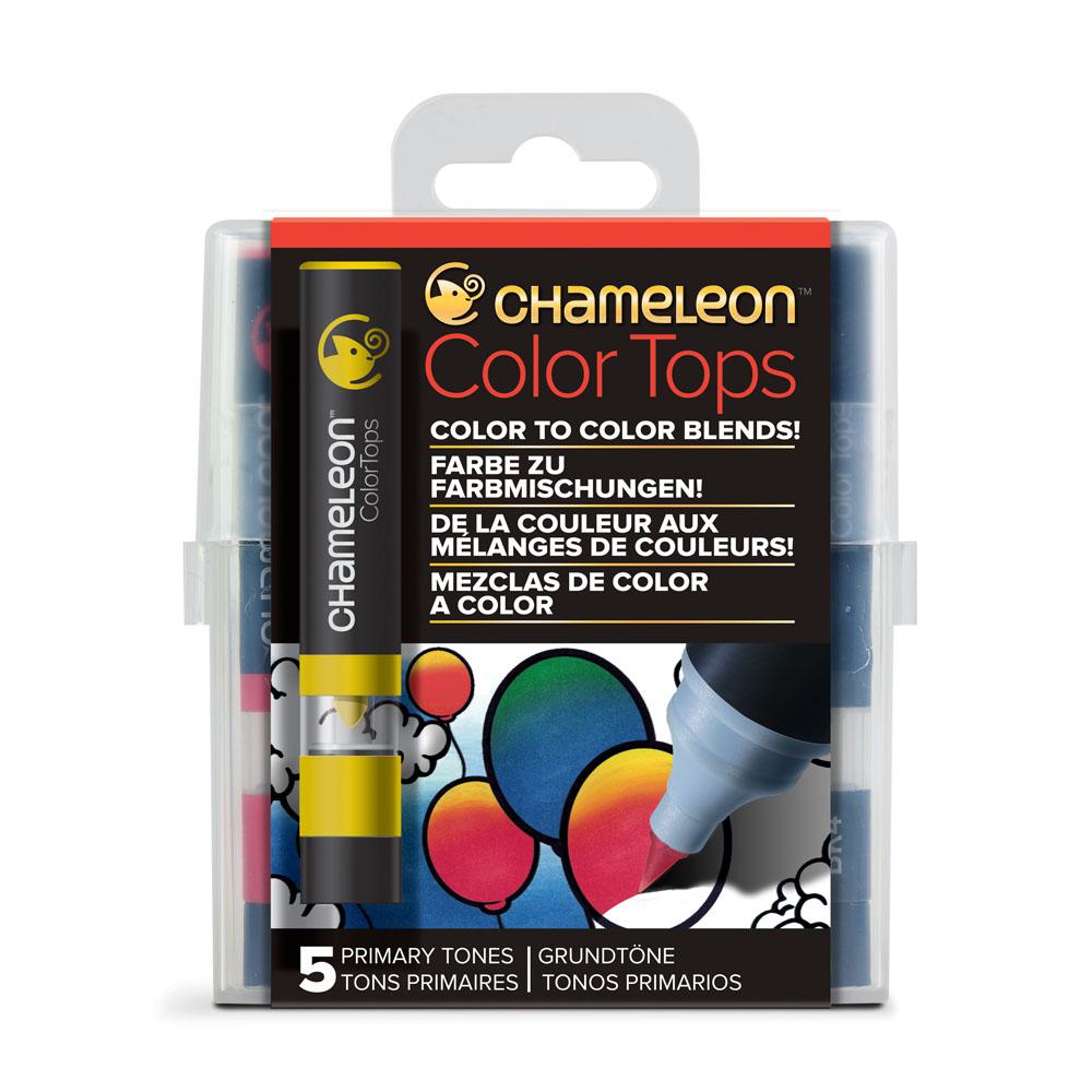 CHameLeon變色龍|麥克筆轉色蓋 5色組 主色調