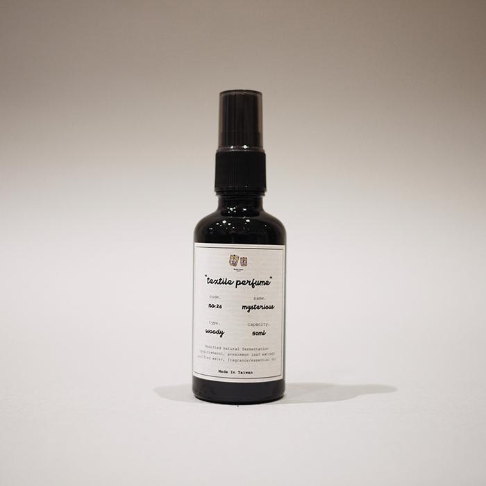 November Treasure|織品香氛噴霧 textile perfume - no.26 mysterious / 50ml