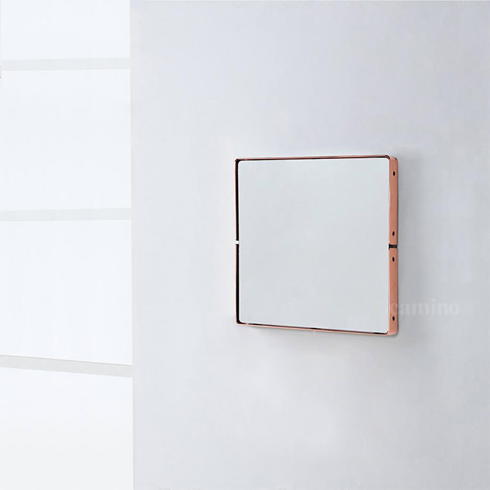 camino|BAUTISTA 紅銅正方鏡