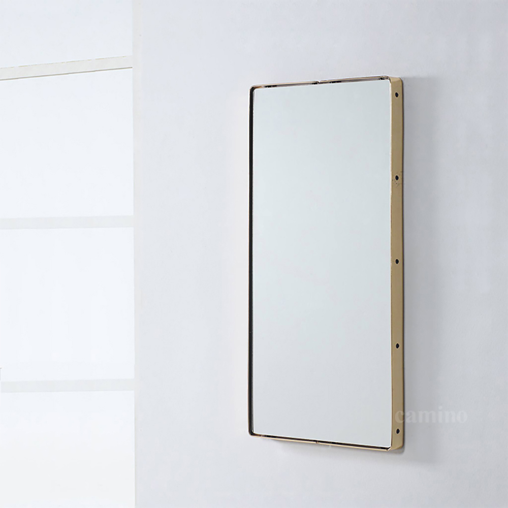 camino|BAUTISTA 黃銅長方鏡