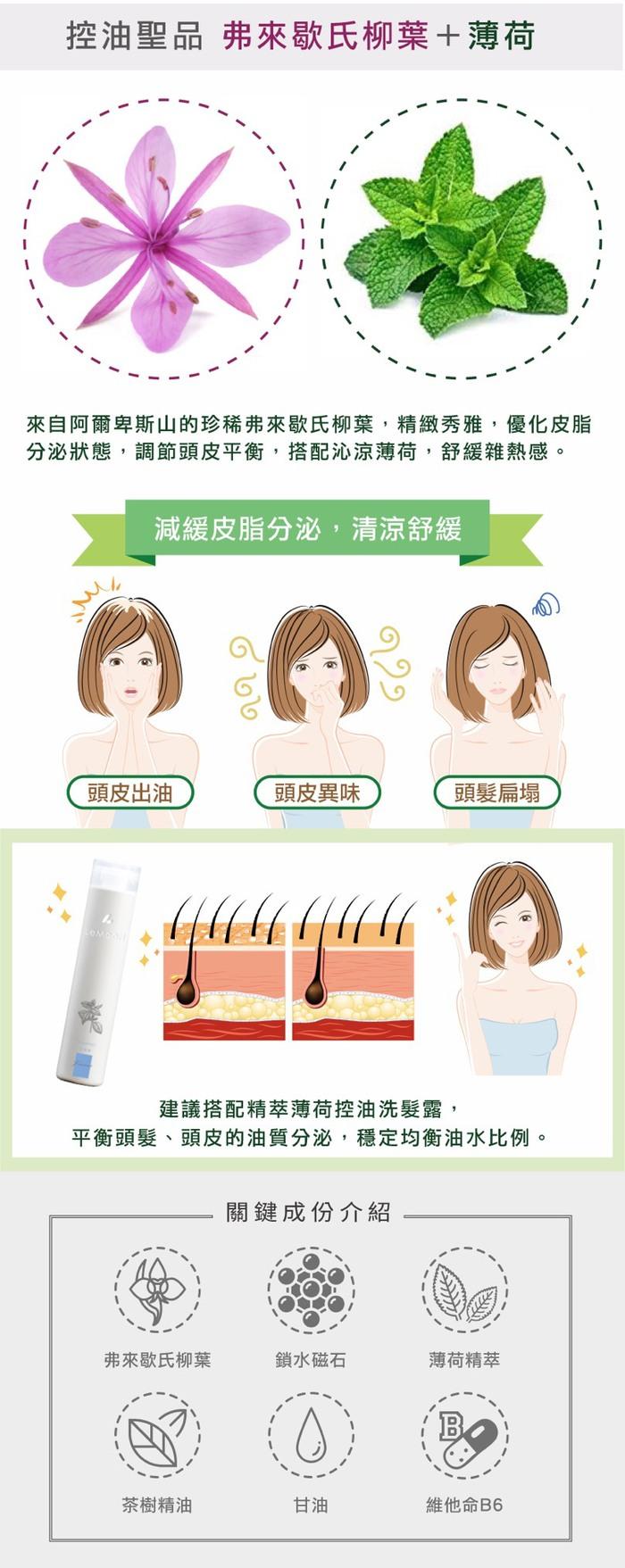 【LeMood】不油自主 茶樹控油精華液 (頭皮滋養與養護)-50ml