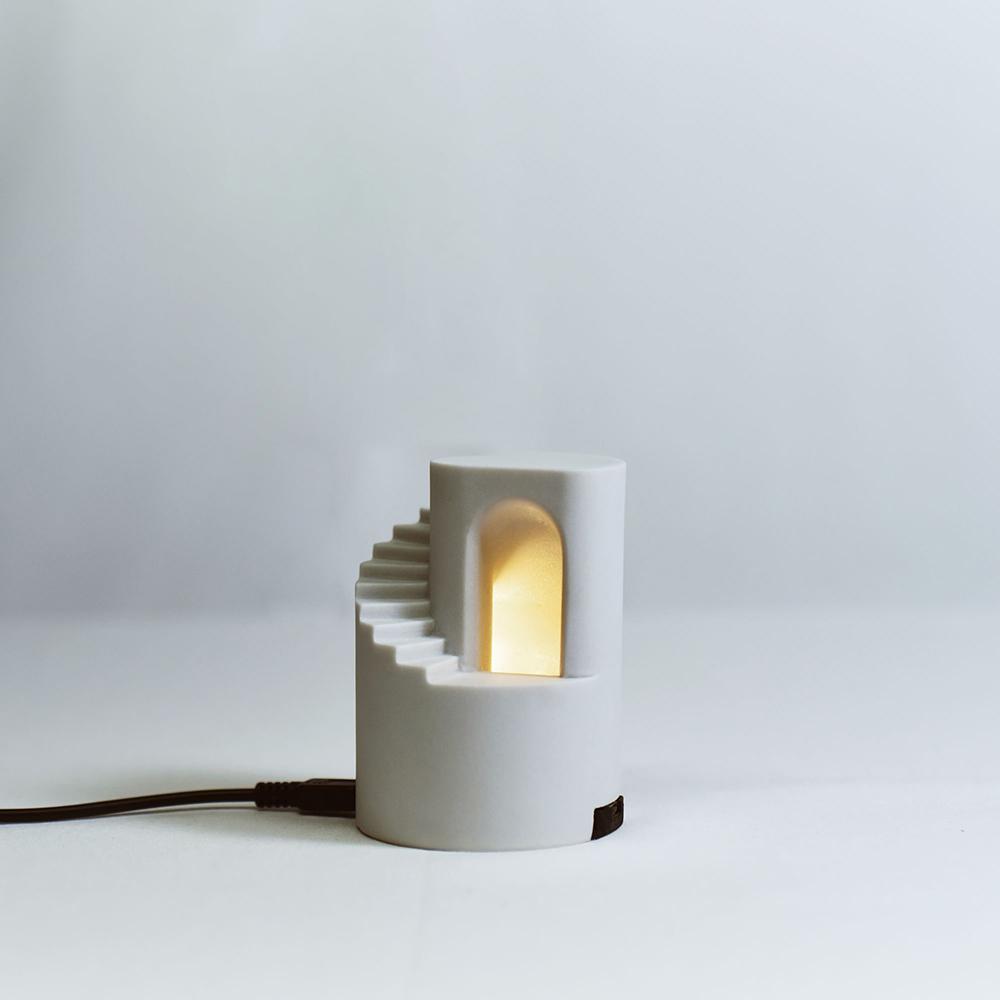 Timestone|石光-Light 人造石迴旋階梯小夜燈