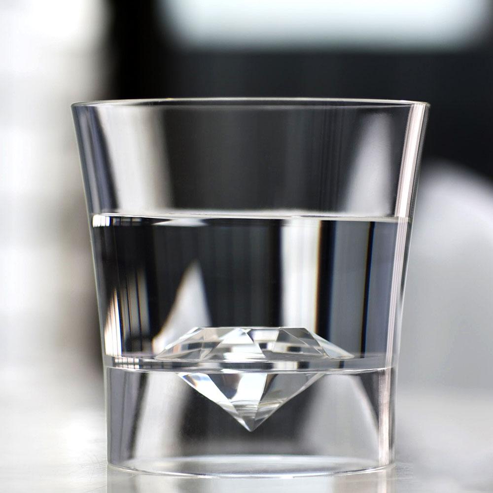 Timestone|Immerse鑽石杯 220ml (2入)
