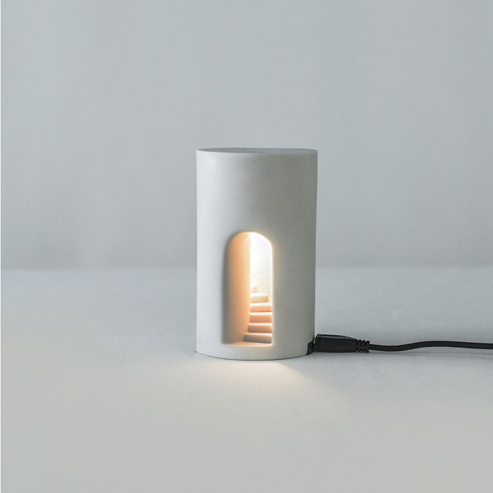 Timestone 夢徑-Light 人造石迴旋階梯小夜燈