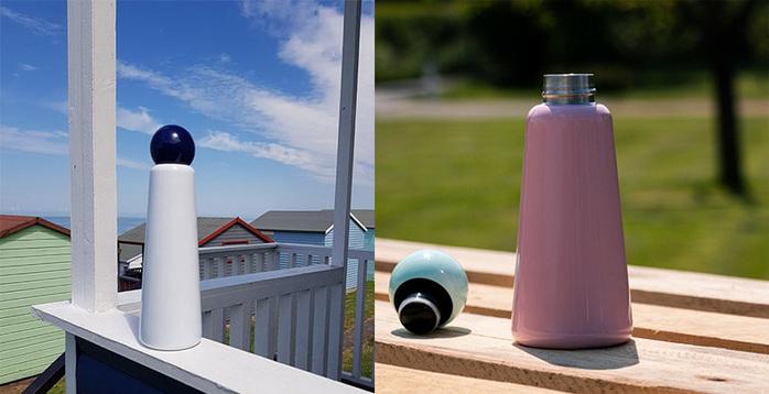 Lund London|Skittle 保溫瓶(300ml) - 薄荷 x 粉紫
