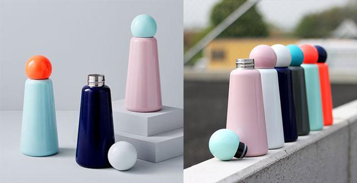 Lund London|Skittle 保溫瓶(500ml) - 薄荷