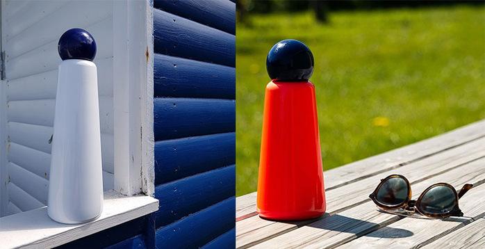 Lund London|Skittle 保溫瓶(750ml) - 靛藍 x 粉