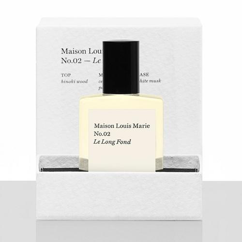 Maison Louis Marie|香氛油滾珠瓶禮盒─No.02 Le Long Fond (木辛香幼兒園)