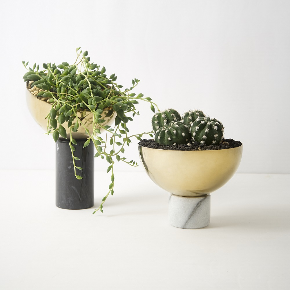 WORROW|大理石半圓花器系列(小)