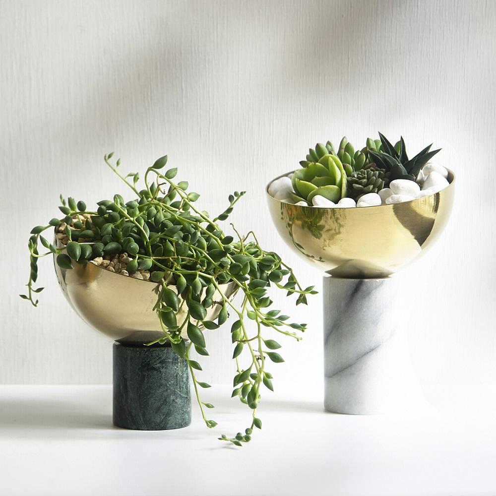WORROW|大理石半圓花器系列(中)