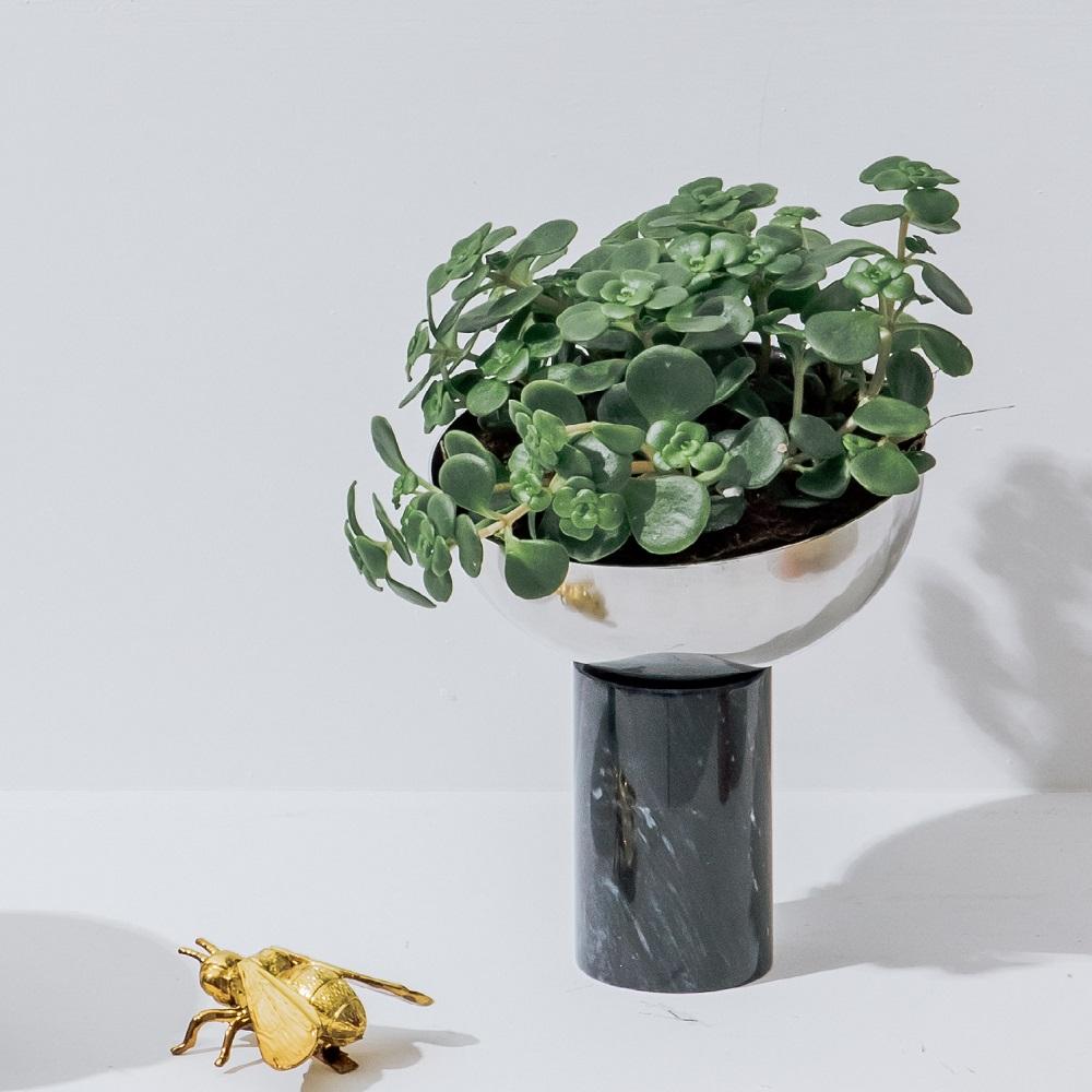 WORROW 大理石半圓花器系列 (高)