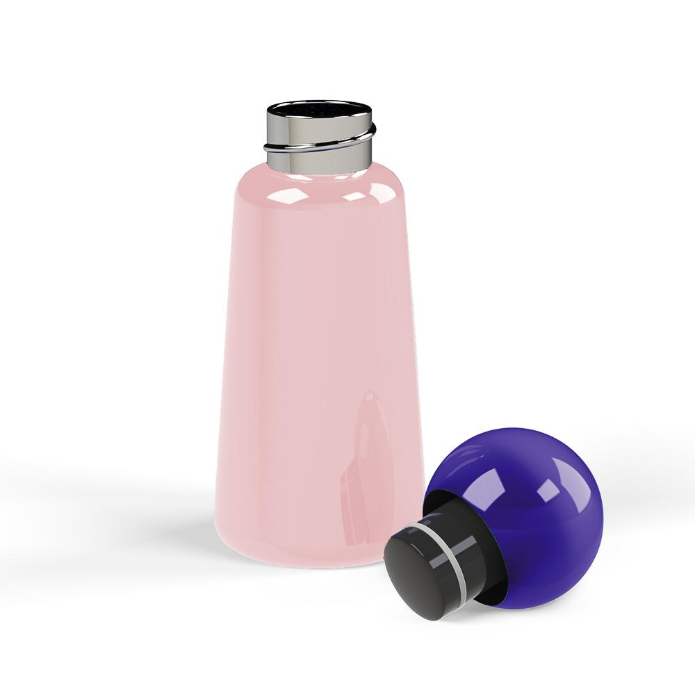 Lund London|Skittle 保溫瓶(300ml) - 粉 x 靛藍