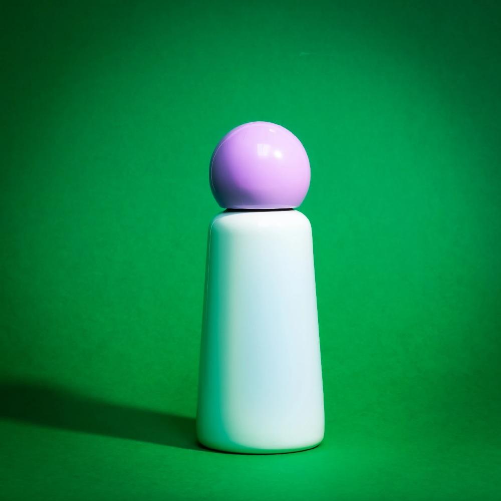 Lund London Skittle 保溫瓶(300ml) - 薄荷 x 粉紫
