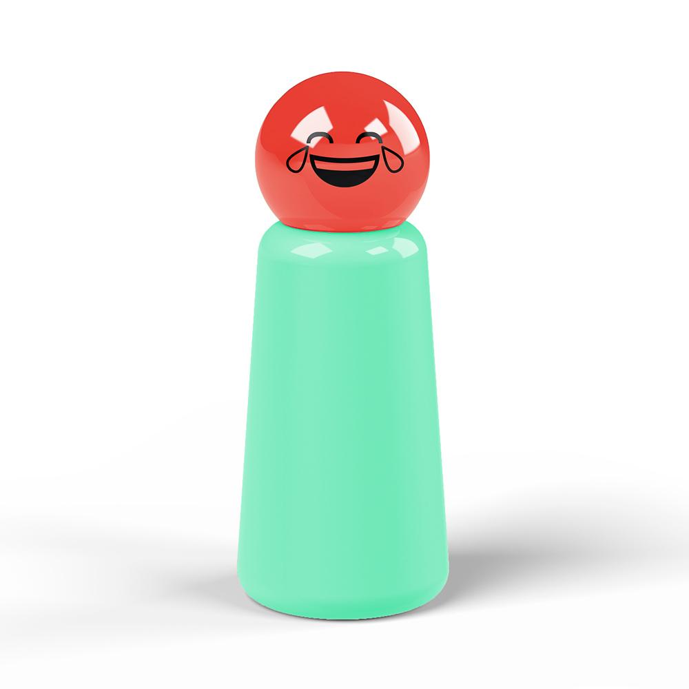 Lund London Skittle 保溫瓶(300ml) - 綠松 x 笑哭