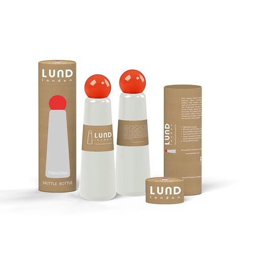 Lund London|Skittle 保溫瓶(750ml) - 淺灰