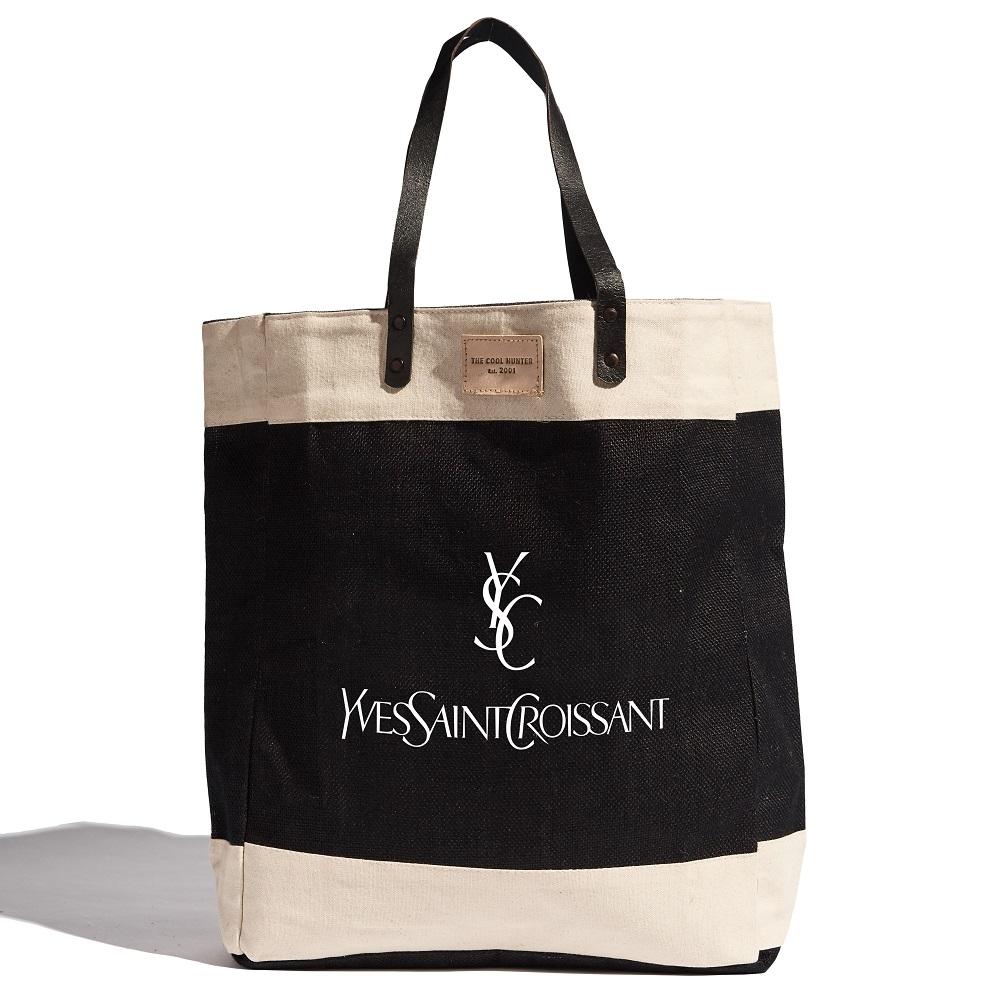 The Cool Hunter 玩轉時尚購物袋/托特包 - Yves Saint Croissant