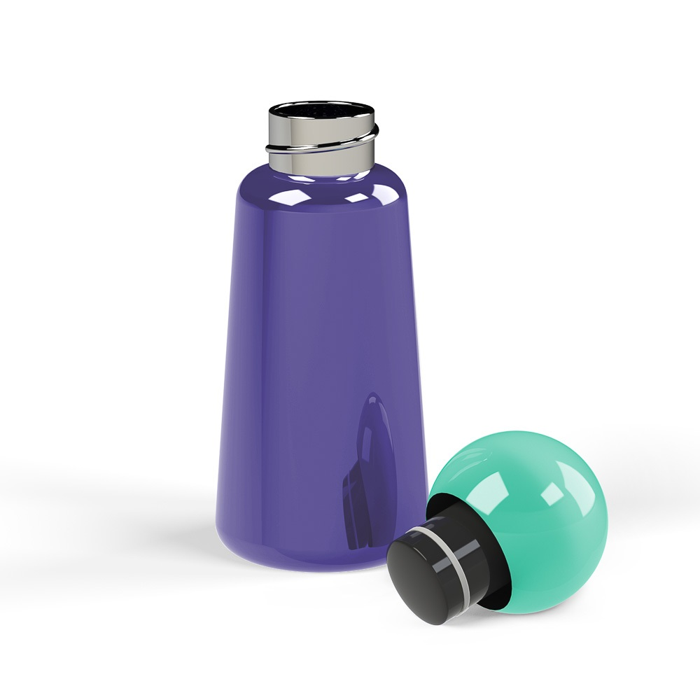 Lund London|Skittle 保溫瓶(300ml) - 靛藍 x 綠松