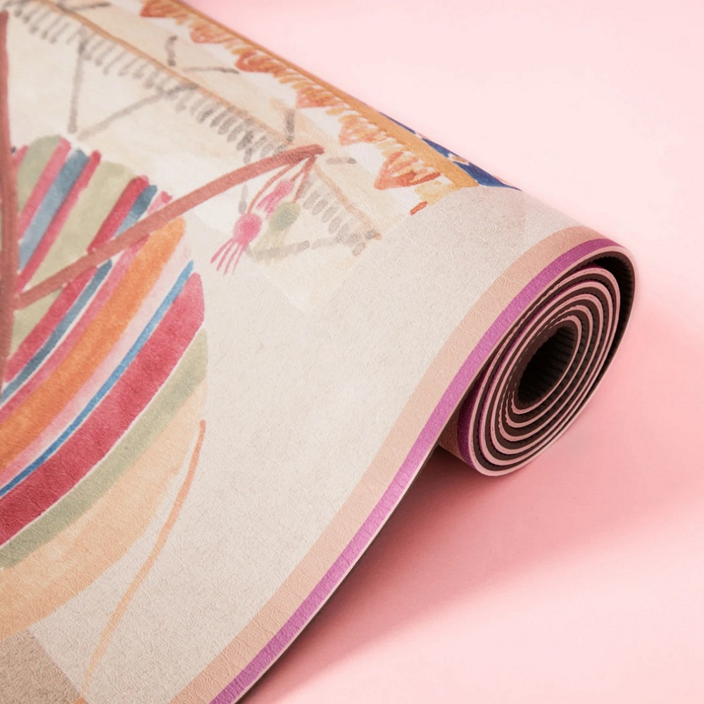Sugarmat Dreams of Marrakesh 系列 - 粉彩駱駝 TPE瑜珈墊 (5mm)