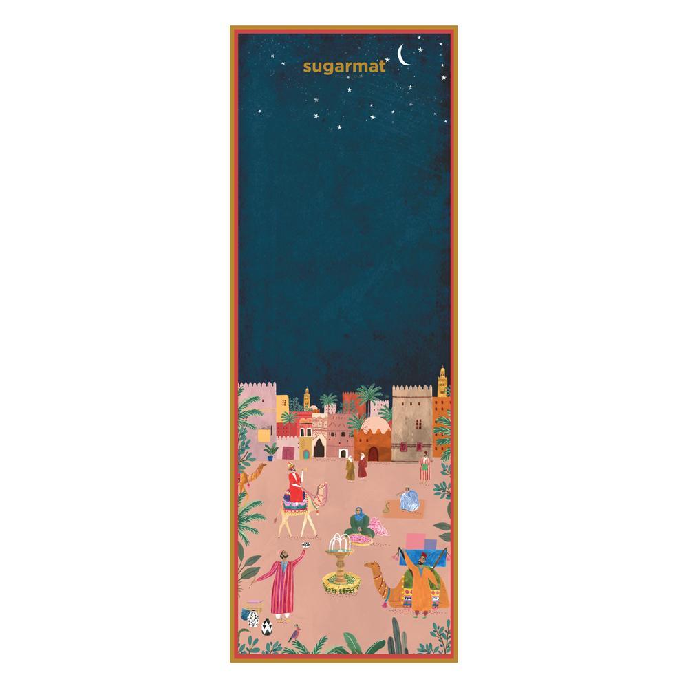 Sugarmat|Dreams of Marrakesh 系列 - 馬拉喀什 旅行瑜珈墊 (1mm)