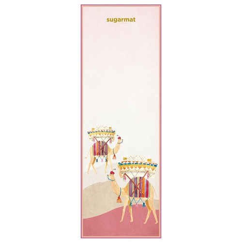 Sugarmat Dreams of Marrakesh 系列 - 粉彩駱駝 旅行瑜珈墊 (1mm)