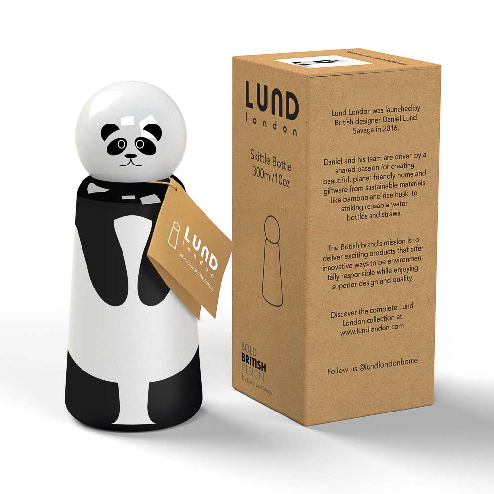 Lund London|Skittle 保溫瓶(300ml) - 貓熊 (7359)